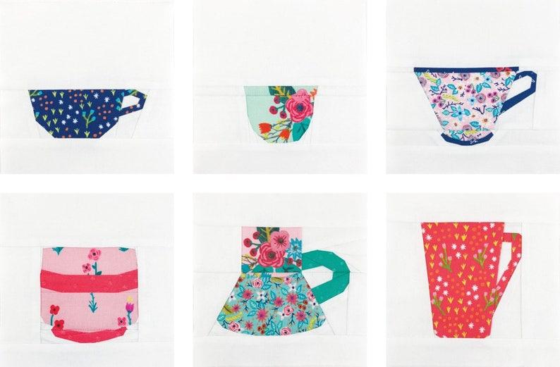 The Mug Club Series Part 2 No. 6  PDF Pattern // Paper image 0