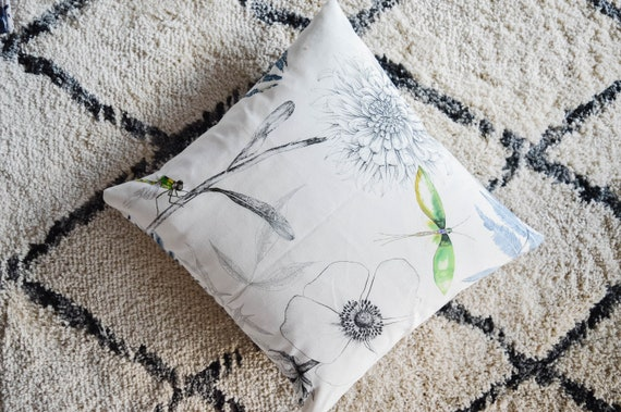 available in set of 2 16x16 Designers Guild Acanthus Decorative Pillow Cover