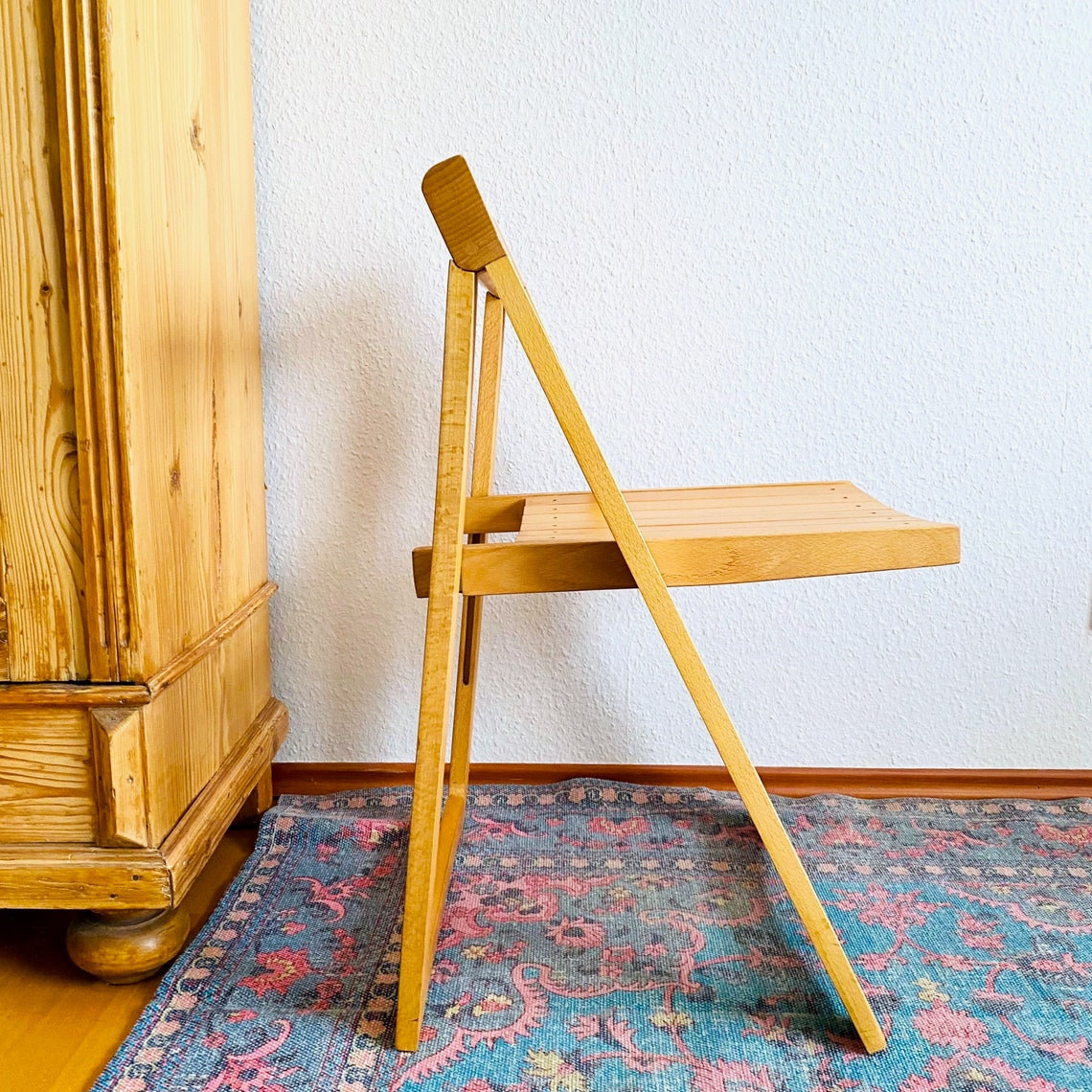 Folding Chair by Aldo Jacober for Alberto Bazzini, 60s, Chair, Mid Century Interior