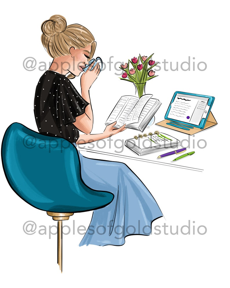 personal study clipart Pioneer studying preaching clipart bible study class Jw clipart writting clipart reading Bible clipart