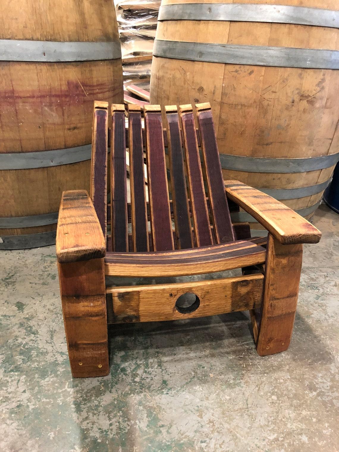 Wine Barrel Baby Adirondack Chair