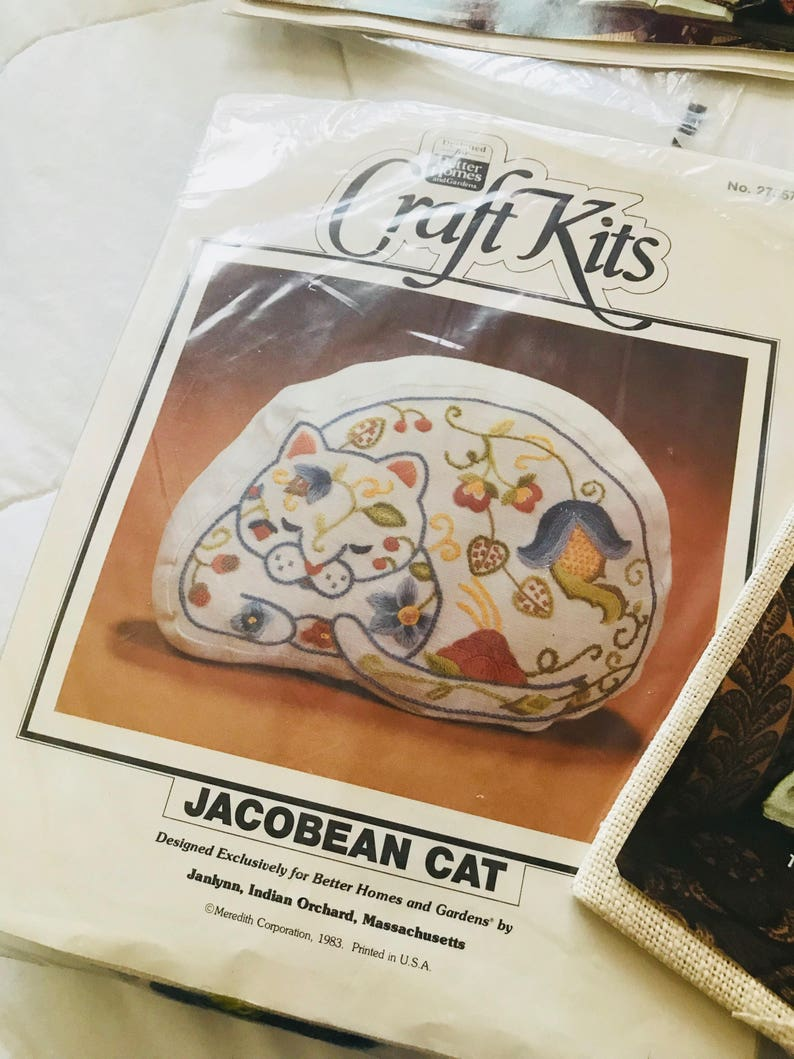 Vintage Bucilla craft kit