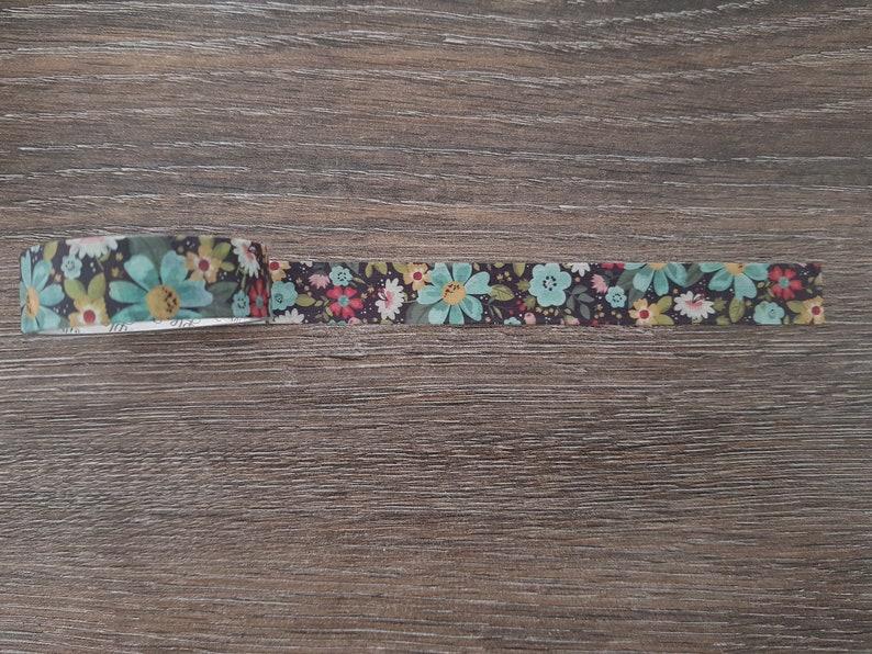 Flower washi tape Spring washi tape sample Scrapbook Floral Botanical masking tape Nature Planner decoration Bulletjournal supplies