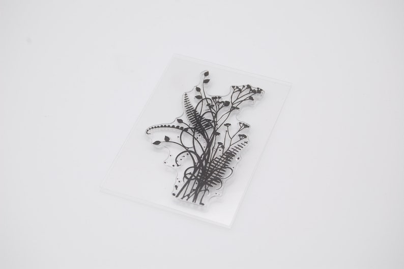 Clear Stamps Set Scrapbooking Card Making Ornamental Grass Stamps