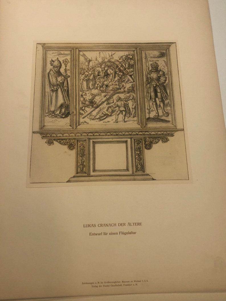 Antique Lukas Cranach Der Altere print