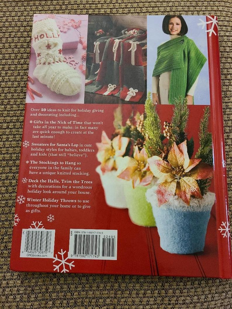 Edited by Bobbie Matela Knit Noel book