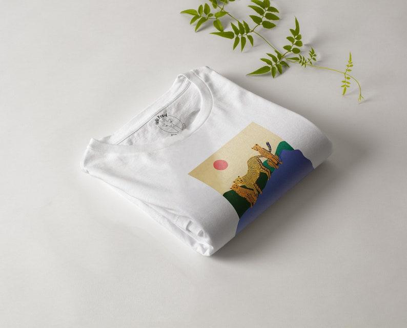 Three Happy Cheetas Friends T-Shirt