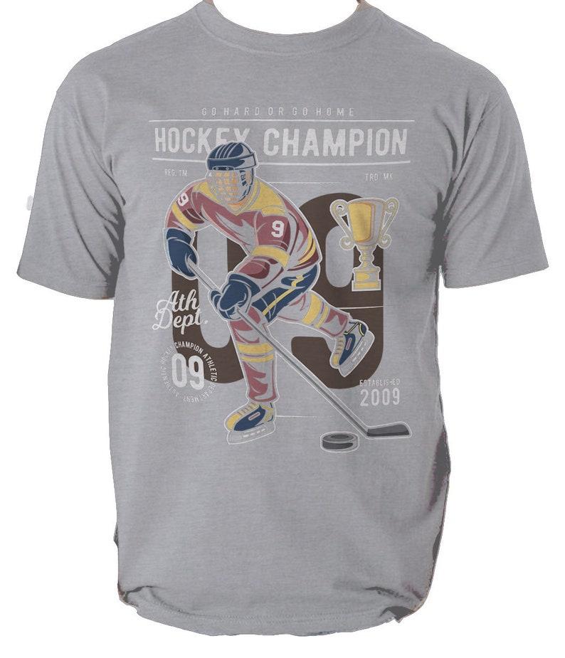 Hockey Champion mens t shirt S-3XL