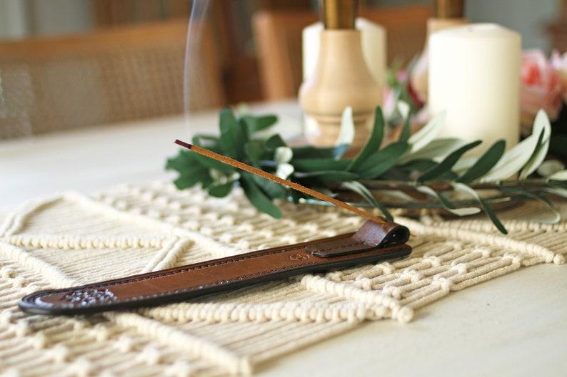 Leather Incense Holder image 0