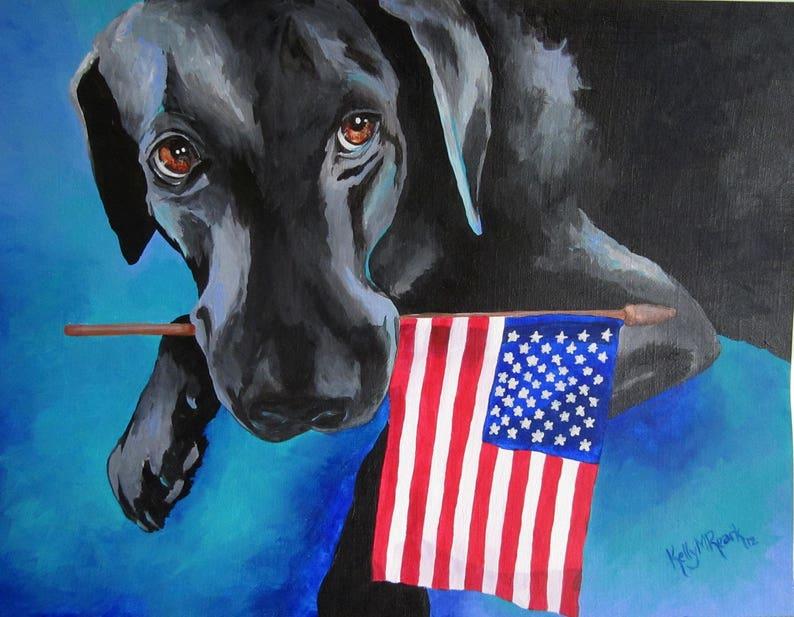 Dog Bless the USA image 0