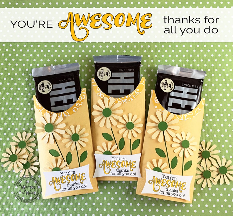 KIT You're AWESOME Candy Card/Candy Bar Wrappers/Employee image 0