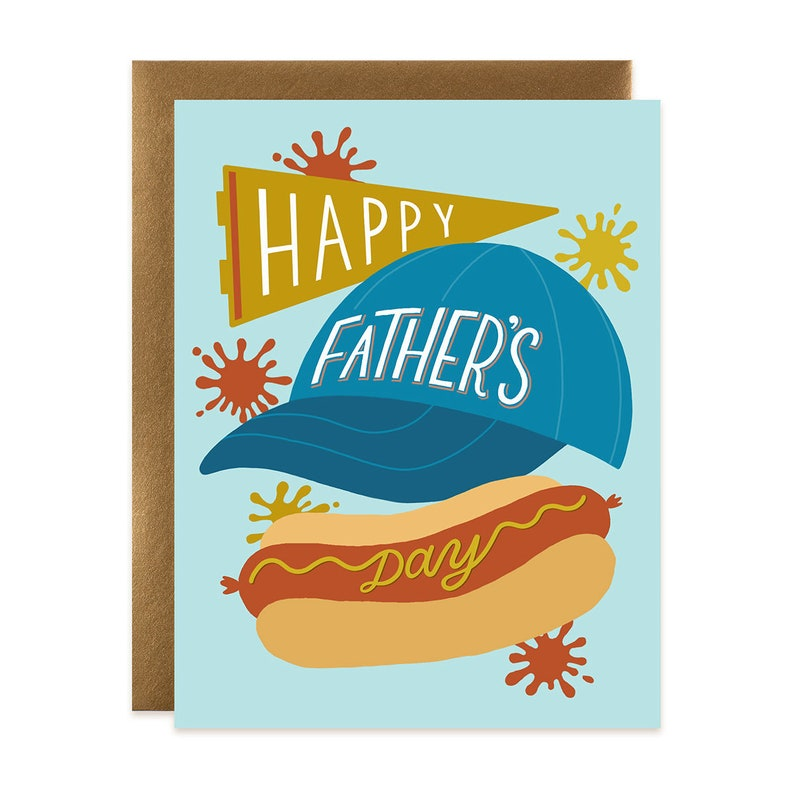 Happy Father's Day Sports Dog Card image 0