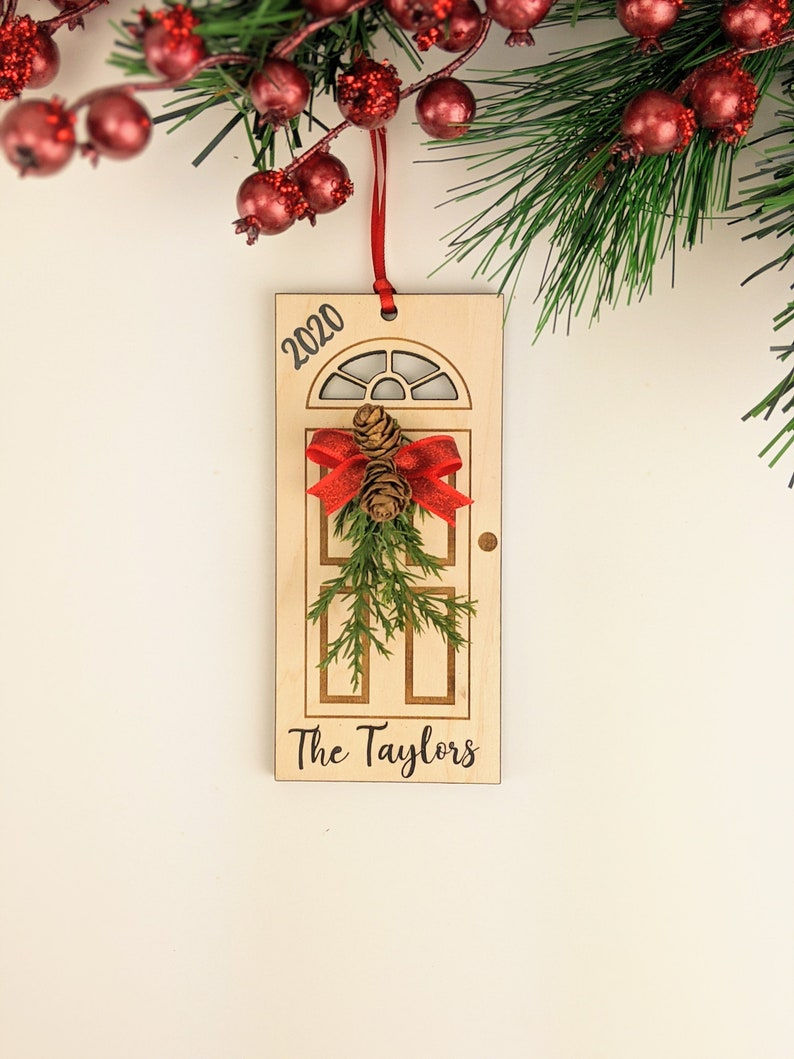 Personalized Christmas Ornament 2020 Personalized Gift image 0