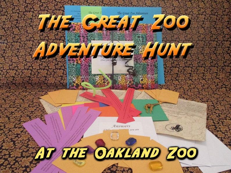 Scavenger Hunt  Oakland Zoo Adventure Hunt  The Great Zoo image 0