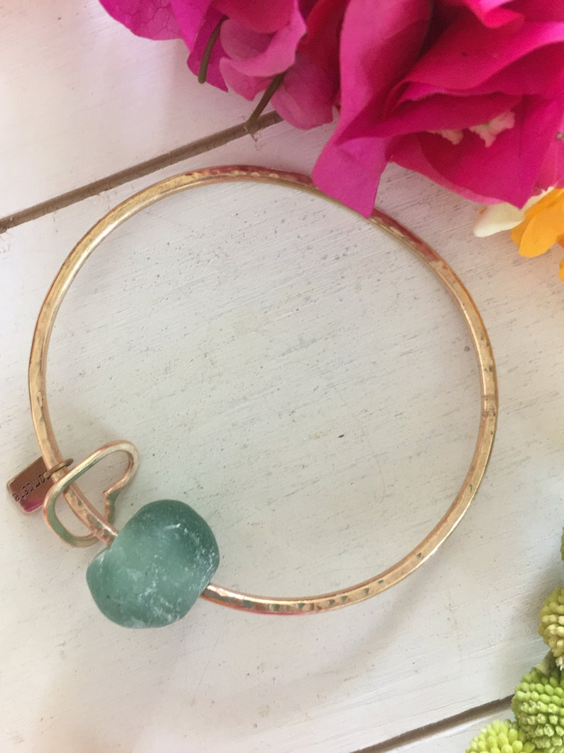 Recycle Beach Marble Bangle