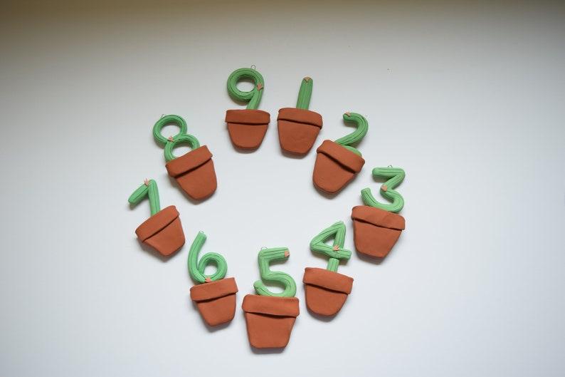 Enneagram 7 Cactus Enneagram Growing Plants Enneagram Ornaments Enneagram 7 Gift Enneagram Seven Enneagram Type Seven Growth Ornament