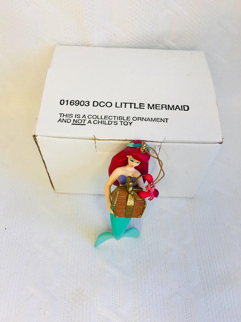 Disney Grolier The Little Mermaid Christmas Ornament-DCO 016903-With Original Box