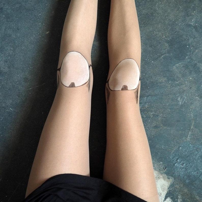 BJD Dollfie SD Pullip Lolita Punk Creepy Fake Plastic Doll Leg
